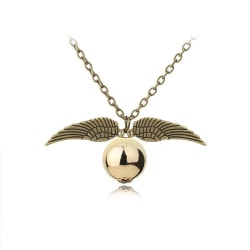 Harry Potter Halsband - Gyllene Kvicken - Golden Snitch - Brons Brons