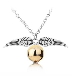 Harry Potter Halsband - Gyllene Kvicken - Golden Snitch - Silver Silver