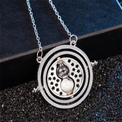 Harry Potter Halsband - Hermione Grangers Time Turner - Silver Silver
