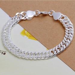 Silver Armband - Elegant & Vacker Design på Länk / Kedja  Silver