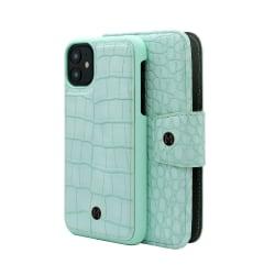 iPhone 11 Marvêlle Magnetiskt Skal & Plånbok Neo Mint Green