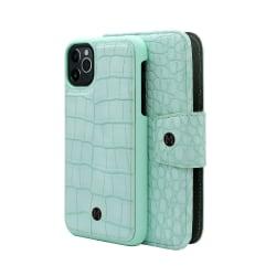 iPhone 11 Pro Marvêlle Magnetiskt Skal & Plånbok Neo Mint Grön