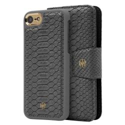 iPhone 6/6s/7/8 Marvêlle Magnetiskt Skal & Plånbok grå