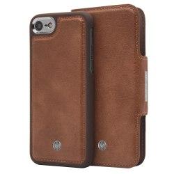 iPhone 6/6s/7/8 Marvêlle Magnetiskt Skal & Plånbok Ljusbrun