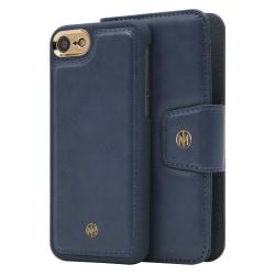 iPhone 6/7/8/SE Marvêlle Magnetiskt Skal & Plånbok Blå Marinblå