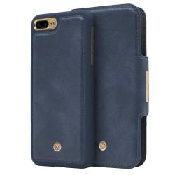 iPhone 7/8 Plus Marvêlle Magnetiskt Skal & Plånbok Blå