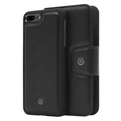 iPhone 7/8 Plus Marvêlle Magnetiskt Skal & Plånbok Svart Svart