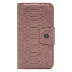 iPhone XR Marvêlle Magnetiskt Skal & Plånbok Askrosa Mörkrosa