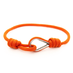 Armband Paracord Naimakka slim Orange  Orange