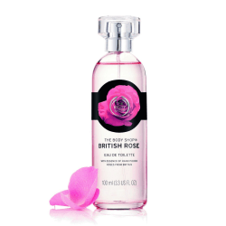 The Body Shop British Rose Eau De Toilette 100ml