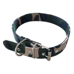 Hundhalsband 2,5x53cm Grön S
