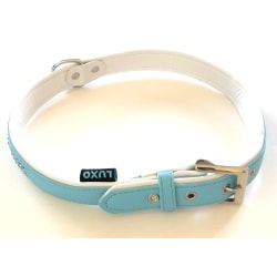 Hundhalsband LUXO 2,5x62cm Blå M