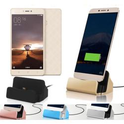 Laddstation Samsung HTC LG Mf. Silver Silver