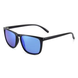 Polariserade Solglasögon Spegel - Ink Fodral Blå