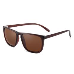 Polariserade Solglasögon Spegel - Ink Fodral Brun