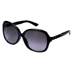 Solglasögon Geisha | Inkl fodral  Svart