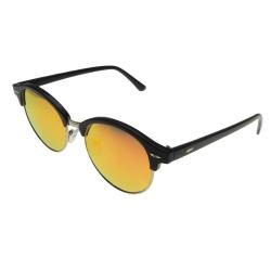 Solglasögon Retro Polariserade Guld Spegel  Ink fodral Guld