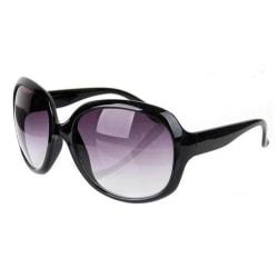 Solglasögon Stora Jackie Svart | Ink fodral Svart