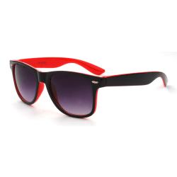 Solglasögon Wayfarer solglasögon Svart/Röd - Ink Fodral Svart