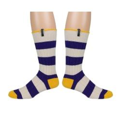 Strumpor Two Socks® 38-41   Kammad Bomull multifärg