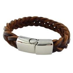 VJ Since 1890 Läderarmband 19cm Brun