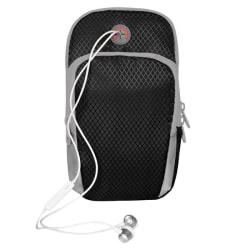 Sportarmband för Smartphone, svart/grå