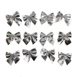 12x Rosetter till Jul - Silver Silver