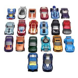 20x Hot Wheels Toy Cars - Säljs slumpmässigt multifärg