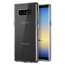 Samsung Note 8 Transparent Skal Transparent