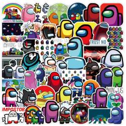 Among Us - 100x Klistermärken multifärg