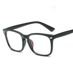 Anti blått ljus / Anti Blue Light Glasögon - Matt Svart Svart one size