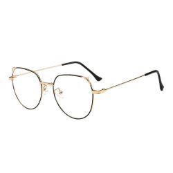 Anti Blue Light-Glasögon, Kattöron - Guld / Svart Guld