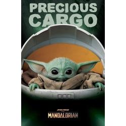 Baby Yoda, Maxi Poster - Precious Cargo multifärg