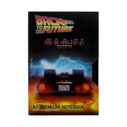 Back to the Future, A5 Anteckningsbok - VHS multifärg