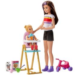 Barbie, Skipper Babysitters Inc - Matdags multifärg