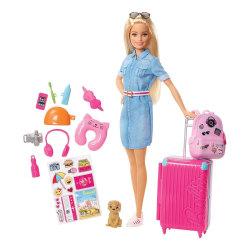 Barbie - Travel Barbie multifärg