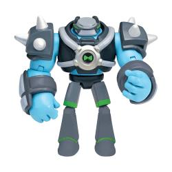 Ben 10, Actionfigur - Omni-Kix Armor Shock Rock multifärg