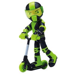 Ben 10, Actionfigur - Rustbuggy Ben med Scooter Multifärg