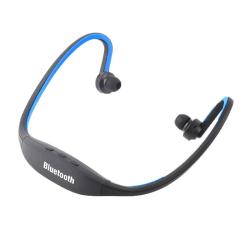 Bluetooth-Hörlurar - Sportversion - Blå Blå