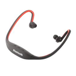 Bluetooth-Hörlurar - Sportversion - Röd Röd