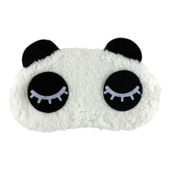 Blundande Panda, Fluffig Sovmask för resor och avslappning multifärg one size