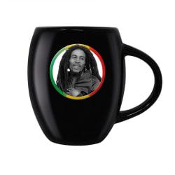 Bob Marley, Mugg - Tricolour Circle multifärg