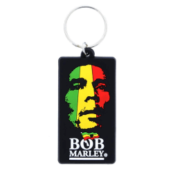 Bob Marley, Nyckelring - Face multifärg one size