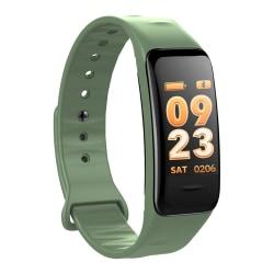 C1S Multifunktionellt Aktivitetsarmband med Färgskärm - Grön Grön