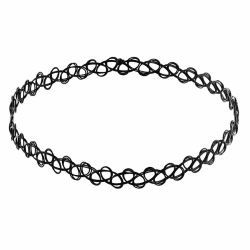 Choker Necklace / Halsband - One Size Svart