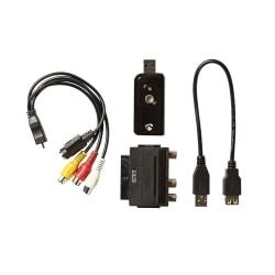 Converter - USB till RCA och S-Video / Scart Svart