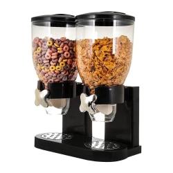Cornflakes Dispenser för 2x 500 g Svart