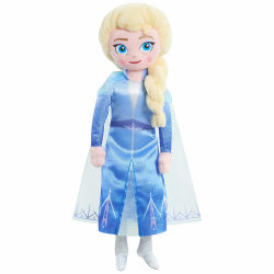 Disney, Frozen 2 / Frost 2, Talande docka - Elsa multifärg