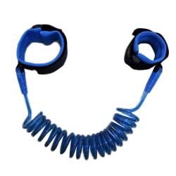 Elastiskt Barnkoppel (fästs vid handled) 2m - Blå Blå