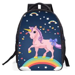 Enhörnings Ryggsäck för barn multifärg